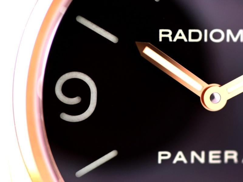 (Vendue) Panerai Radiomir Or rose    Réf : Pam 231 Img_5316