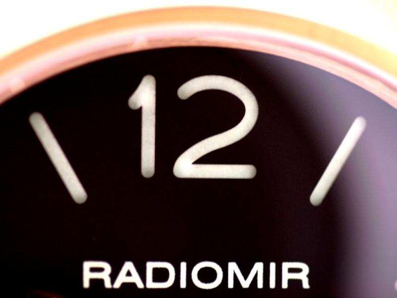 (Vendue) Panerai Radiomir Or rose    Réf : Pam 231 Img_5318