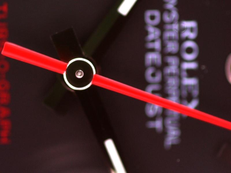 (Vendue) Rolex Turn O Graph écriture rougeRéf : 116264 Img_5617