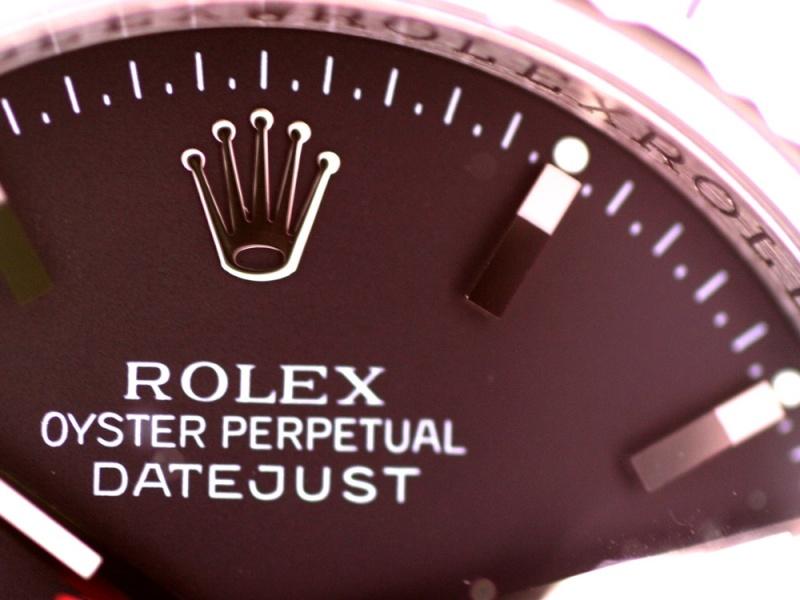 (Vendue) Rolex Turn O Graph écriture rougeRéf : 116264 Img_5638