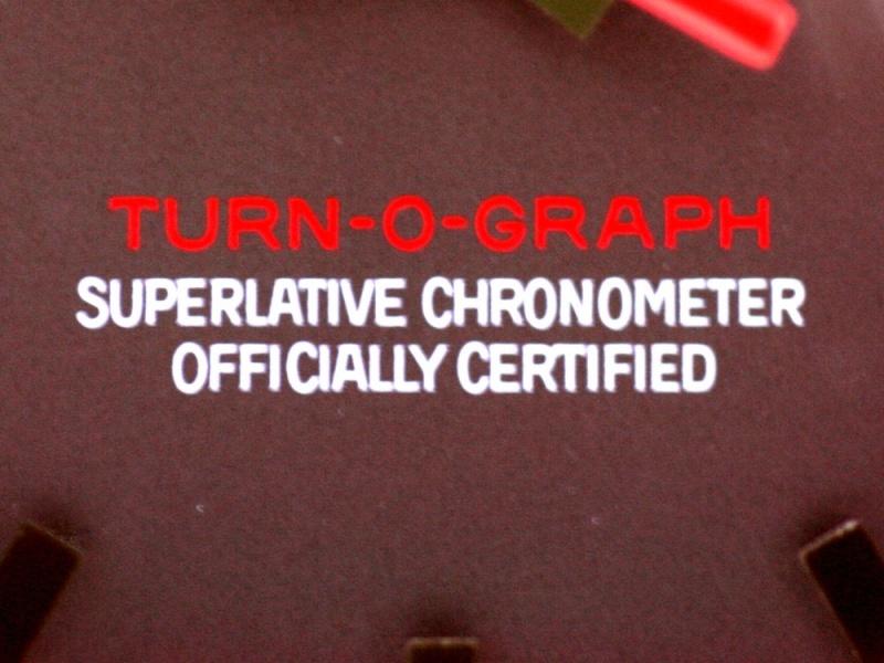 (Vendue) Rolex Turn O Graph écriture rougeRéf : 116264 Img_5639