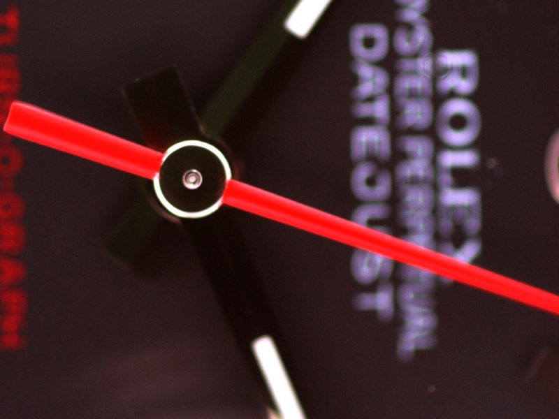 (Vendue) Rolex Turn O Graph écriture rougeRéf : 116264 Img_5642