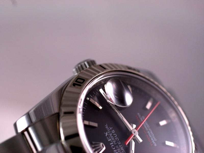 (Vendue) Rolex Turn O Graph écriture rougeRéf : 116264 Img_5721