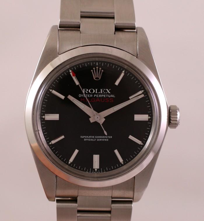 (Vendue) Rolex Milgauss        Réf : 1019 Img_6334