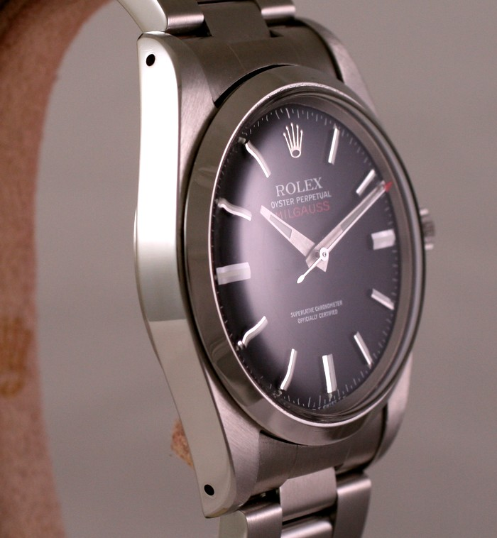 (Vendue) Rolex Milgauss        Réf : 1019 Img_6335
