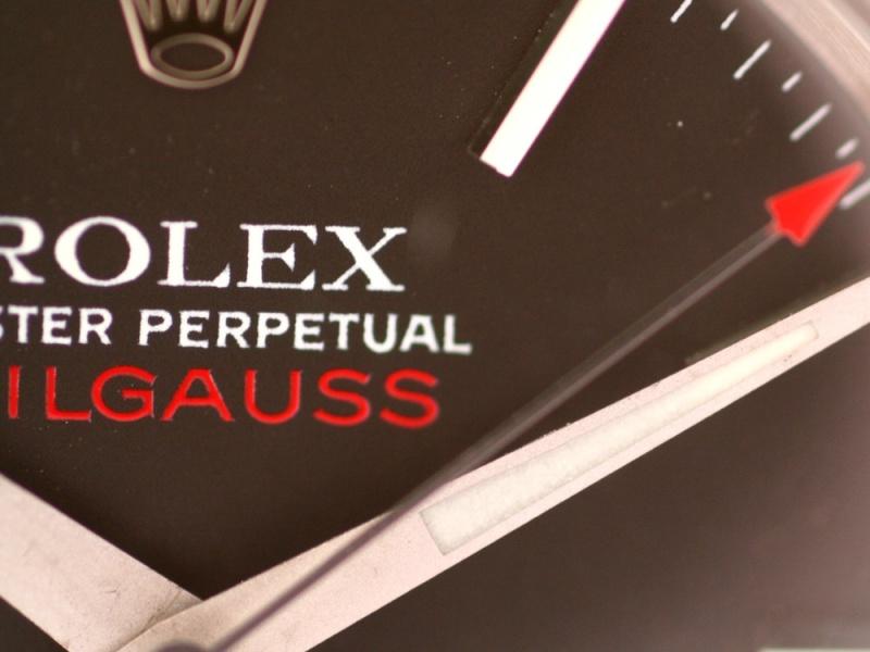 (Vendue) Rolex Milgauss        Réf : 1019 Img_6342
