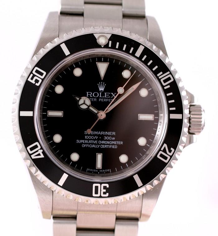 (Vendue) Rolex SubmarinerRéf : 14060 M Img_8310