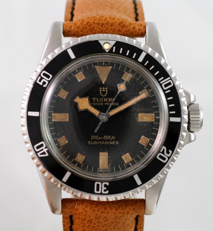 (Vendue) Tudor SubmarinerRéf : 7016 Img_8821