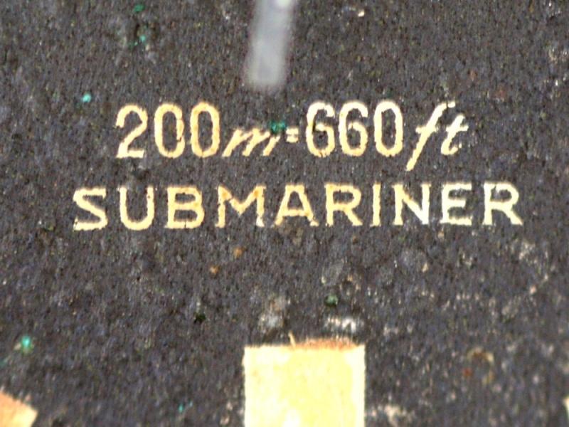 (Vendue) Tudor SubmarinerRéf : 7016 Img_8827