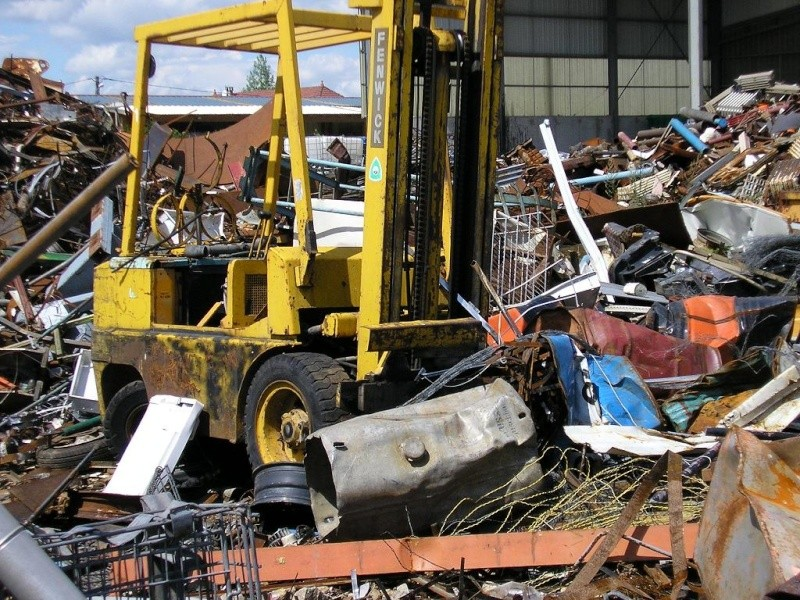 restauration d'un chariot élévateur A25