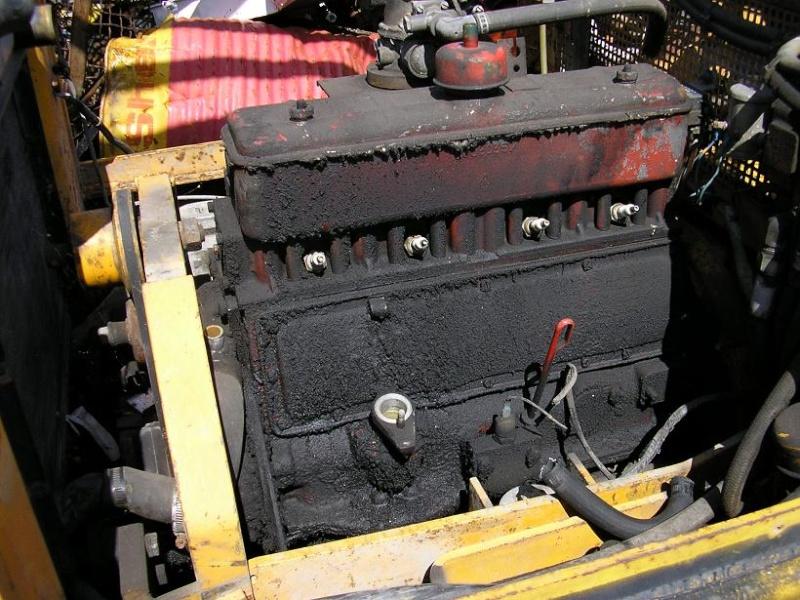 restauration d'un chariot élévateur D13