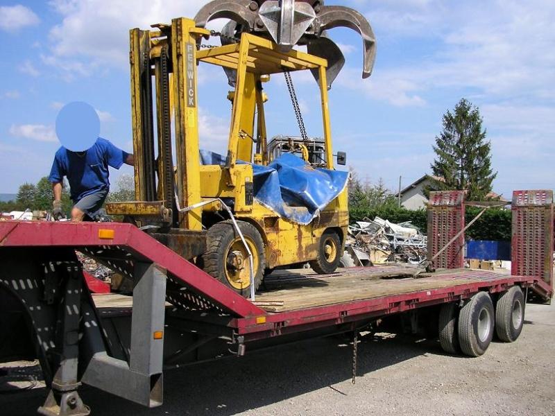 restauration d'un chariot élévateur J10