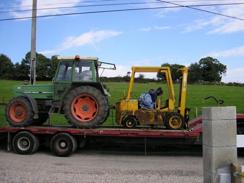 restauration d'un chariot élévateur L10