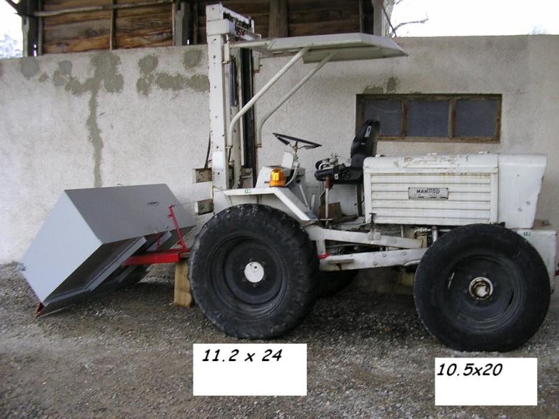 changer des pneus au démonte pneus Manito10
