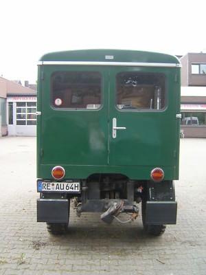 421 mini mini camping car ! Unimog15