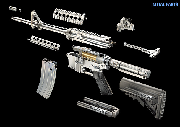 Marui SOPMOD M4 AEG (Blow Back) 1010