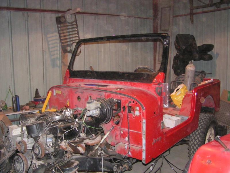 CJ 7 sur chassis mercedes et V8 mercos - Page 4 Pict5315
