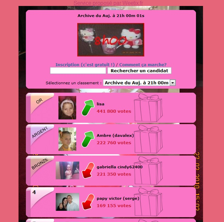 concours 8h00 hello kitty 8h00_h12