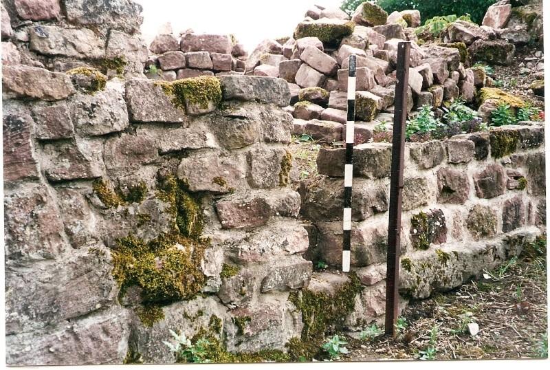 Restauration de la tourelle du mur d'enceinte chez Mr.Kratz 1011