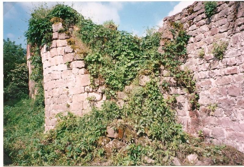 Restauration de la tourelle du mur d'enceinte chez Mr.Kratz 110