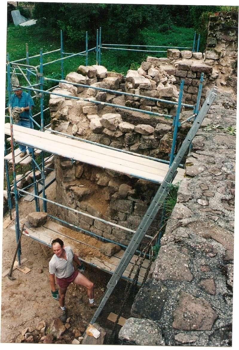 Restauration de la tourelle du mur d'enceinte chez Mr.Kratz 1710