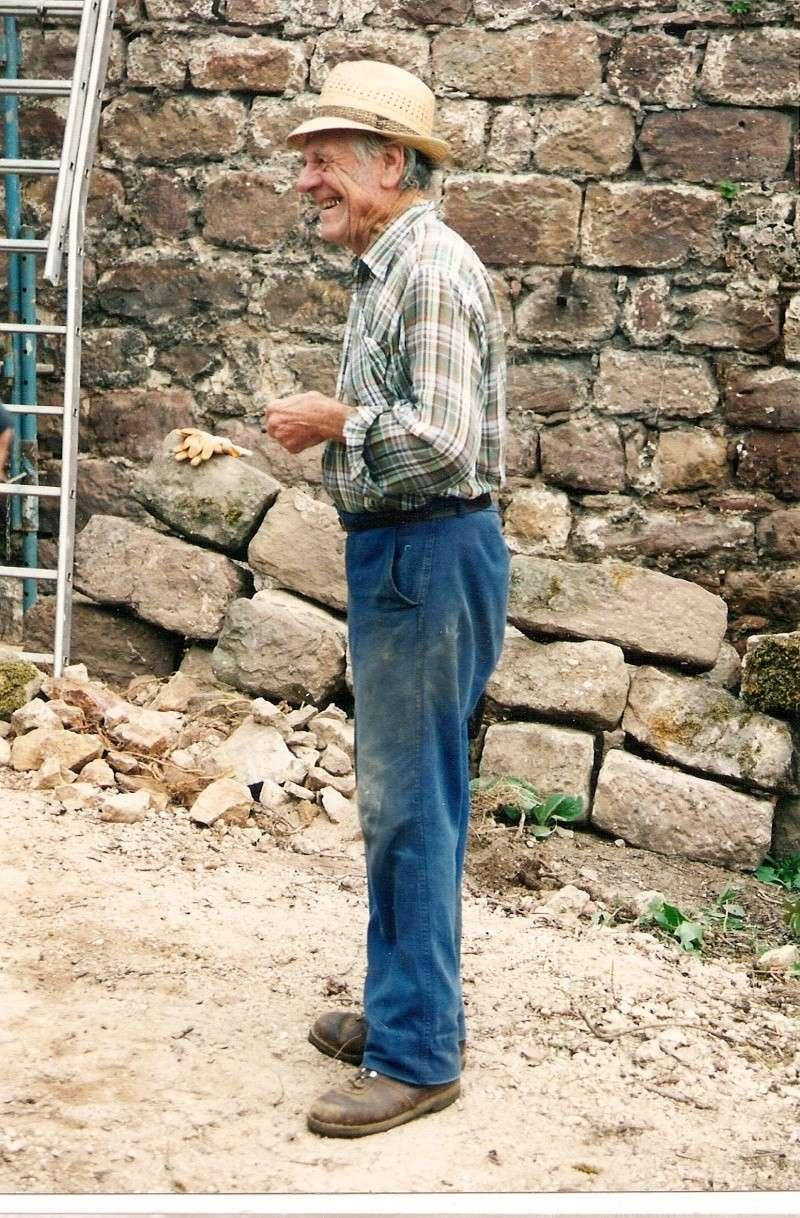 Restauration de la tourelle du mur d'enceinte chez Mr.Kratz 1a10