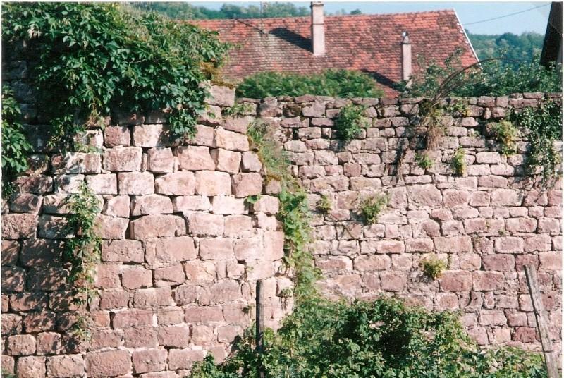 Restauration de la tourelle du mur d'enceinte chez Mr.Kratz 210