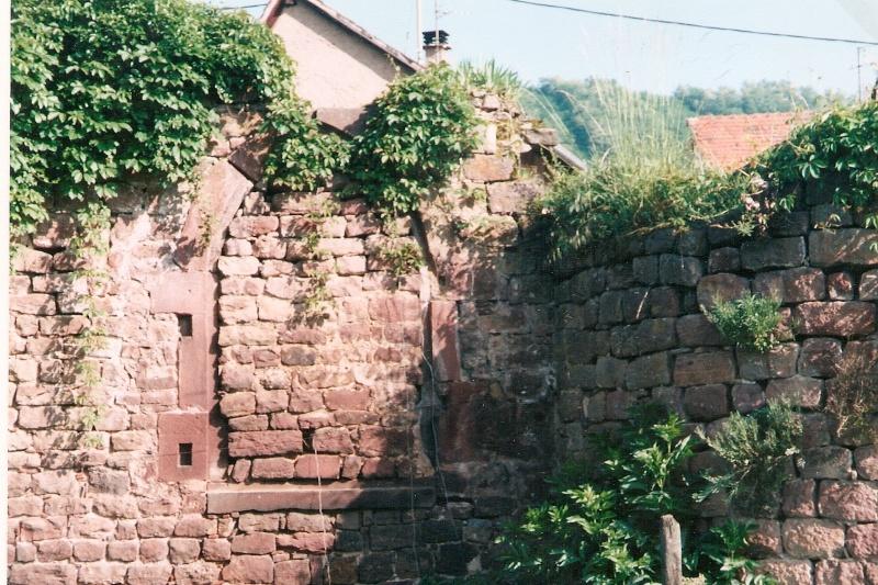 Restauration de la tourelle du mur d'enceinte chez Mr.Kratz 310