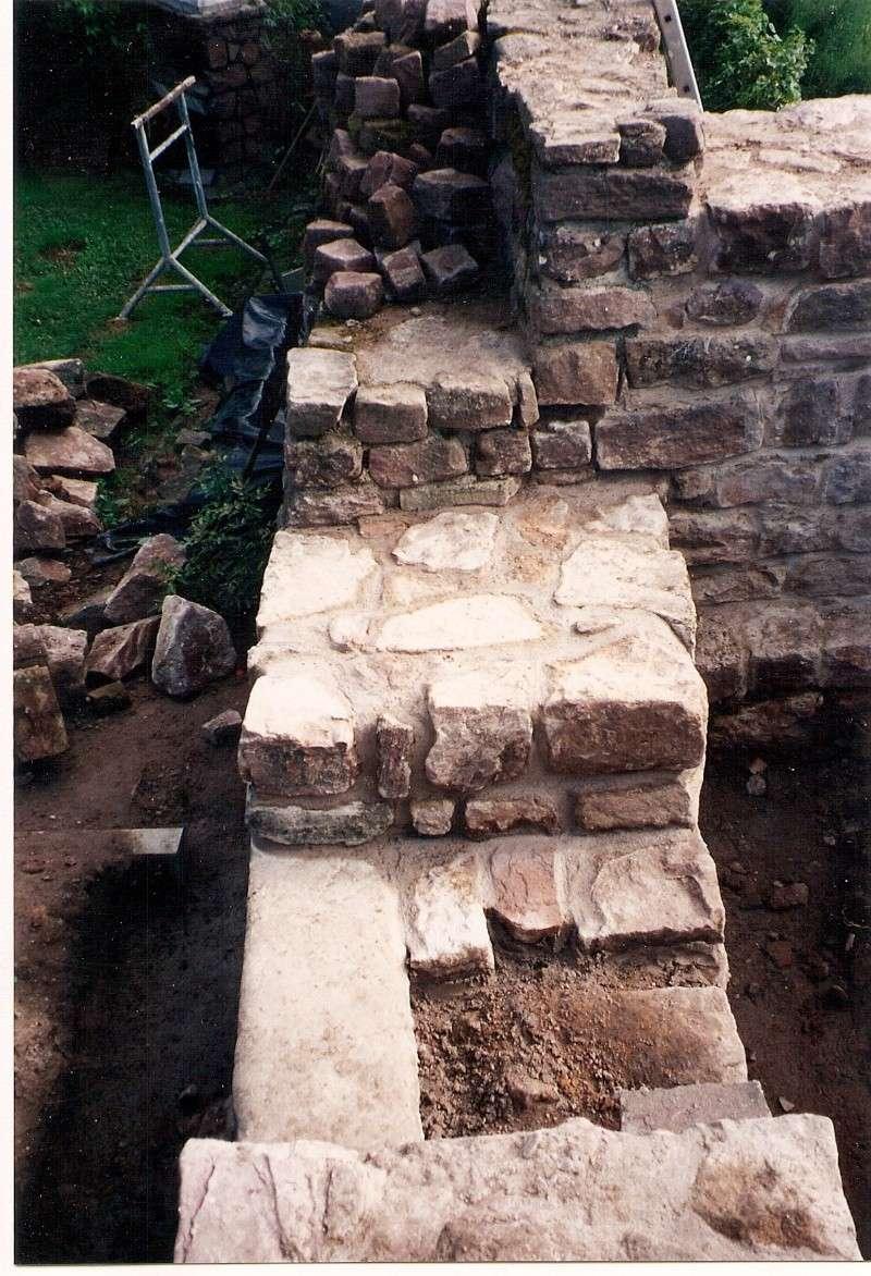 Restauration de la tourelle du mur d'enceinte chez Mr.Kratz 3510