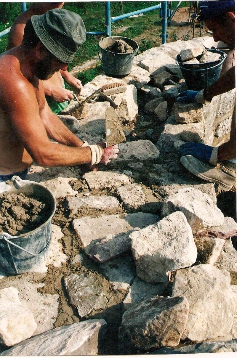 Restauration de la tourelle du mur d'enceinte chez Mr.Kratz 3610