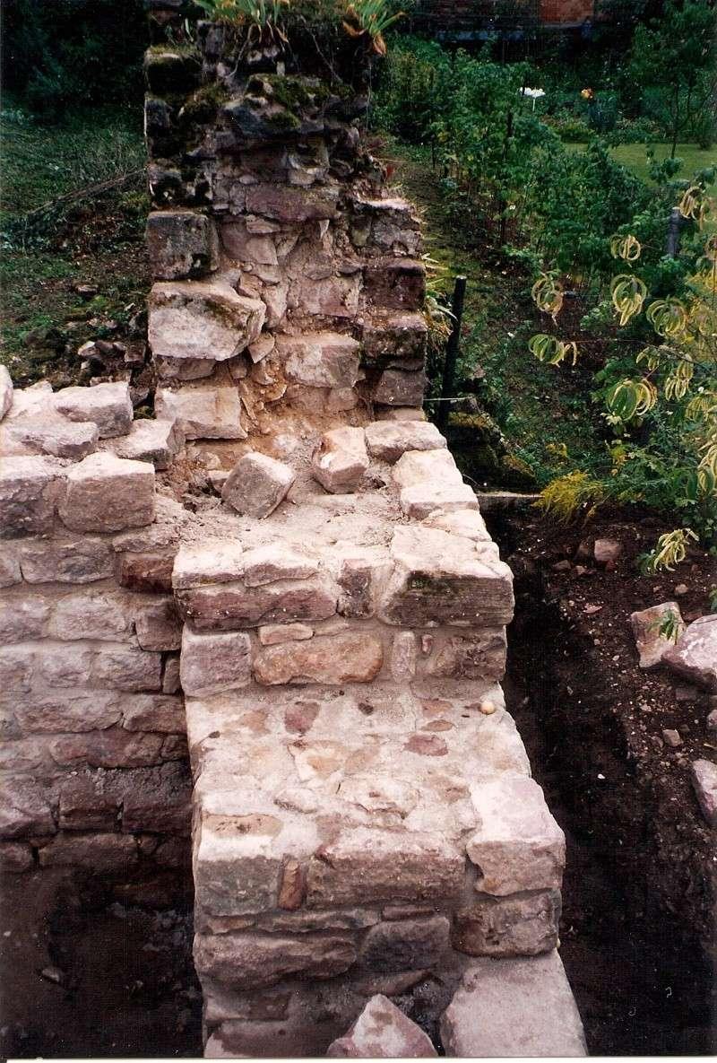 Restauration de la tourelle du mur d'enceinte chez Mr.Kratz 4110