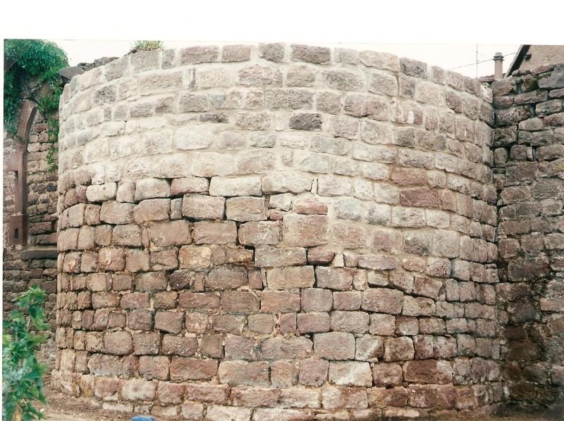 Restauration de la tourelle du mur d'enceinte chez Mr.Kratz 4310