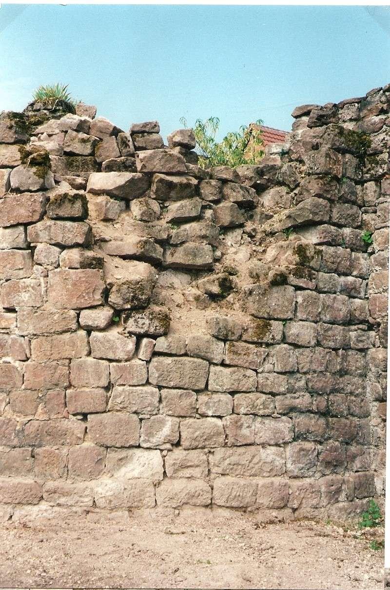 Restauration de la tourelle du mur d'enceinte chez Mr.Kratz 510