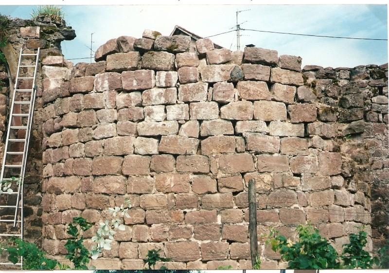 Restauration de la tourelle du mur d'enceinte chez Mr.Kratz 710