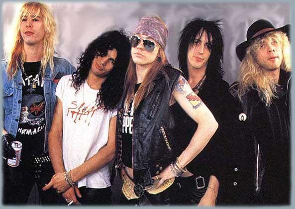 Guns N' Roses Gunsnr10