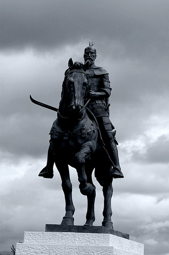 Pictures and Statues of Scanderbeg S_mich12