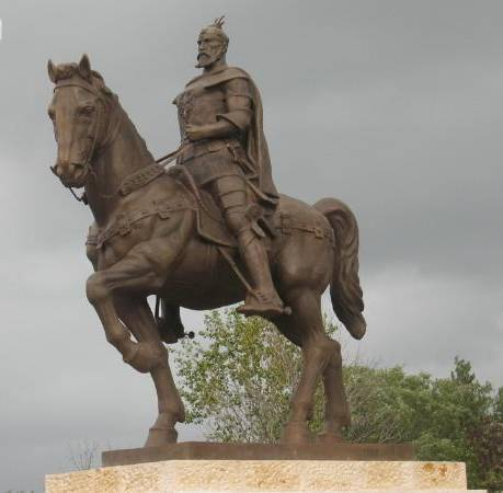Pictures and Statues of Scanderbeg S_mich15