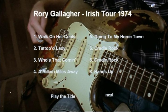 Irish Tour (Tony Palmer's Film - 1974) 0b893610