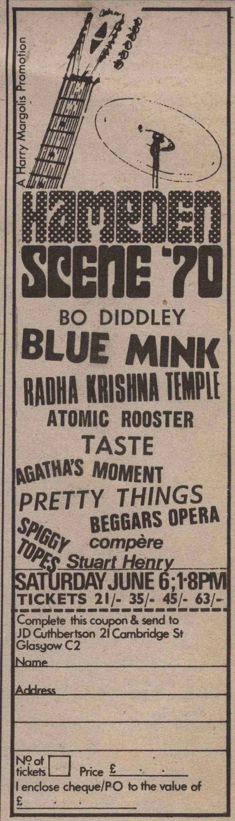 Taste Mk 2 (1968-1970) - Page 6 Advert14