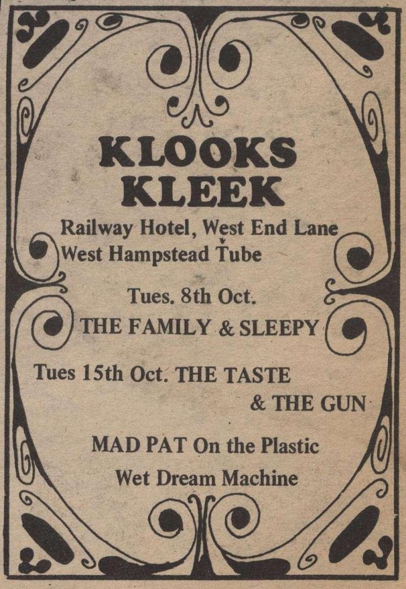 Taste Mk 2 (1968-1970) - Page 6 Advert17