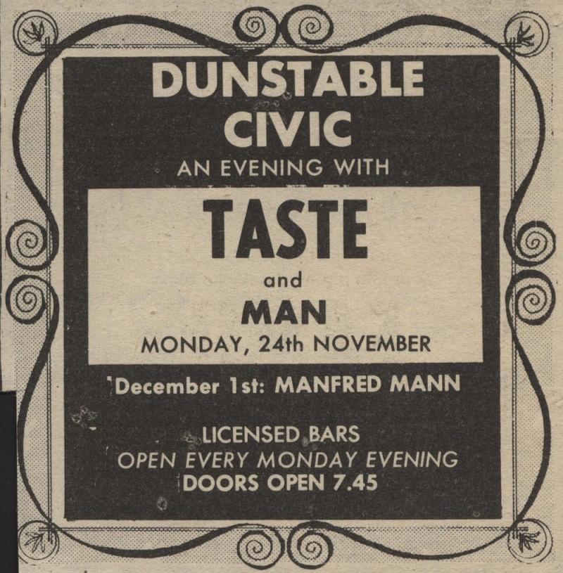 Taste Mk 2 (1968-1970) - Page 6 Advert18