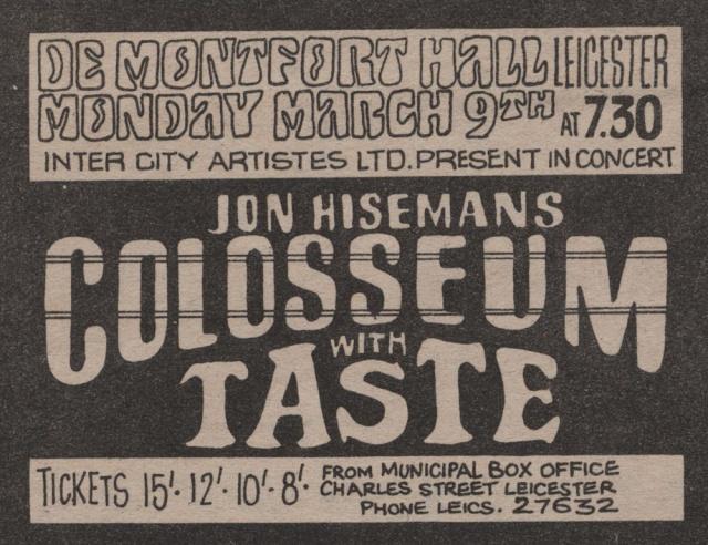 Taste Mk 2 (1968-1970) - Page 6 Advert20