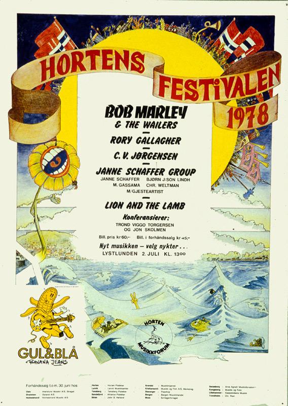 Photos de Knut Roppestad - Horten, Norvège, 2 juillet 1978 Hfplak10