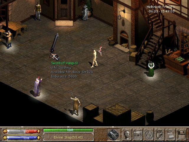 Vampiric Weapons Helsho35