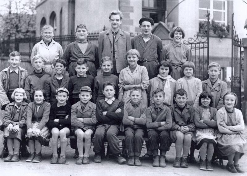Les écoles d'hier à Wangen 1958_110