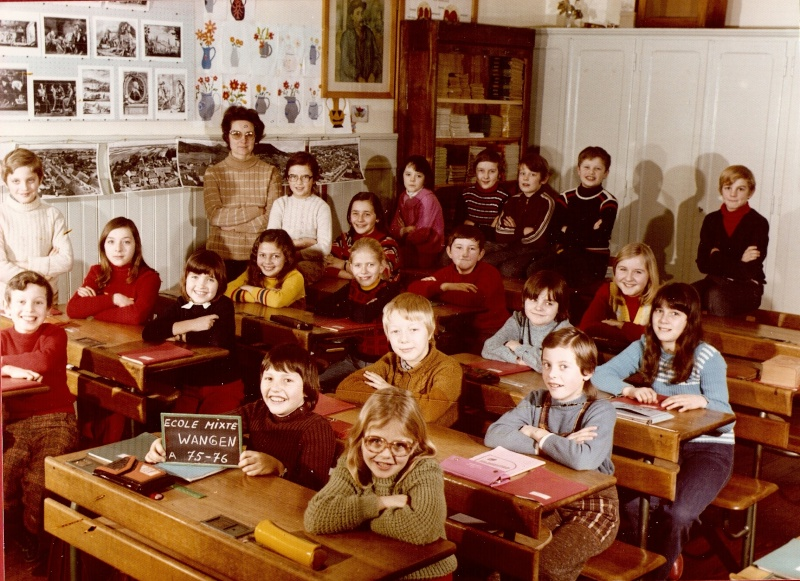 Les écoles d'hier à Wangen - Page 3 1975-110