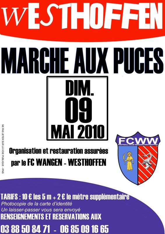 Marché aux puces 2010 de Westhoffen Affich10