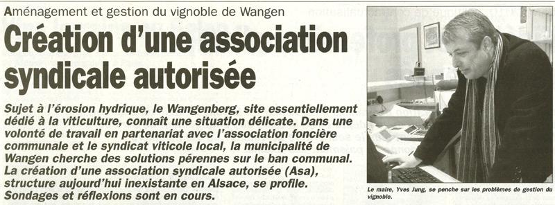Le vignoble de WANGEN Journa10