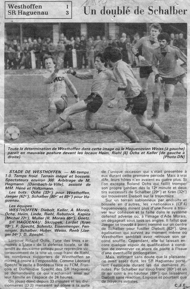 L e FC Wangen Westhoffen - Page 2 Numar139