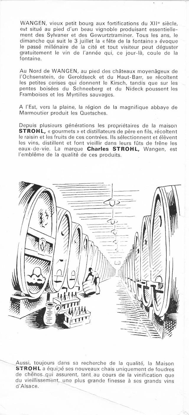 Distillerie et négoce en vins STROHL à Wangen Numar143